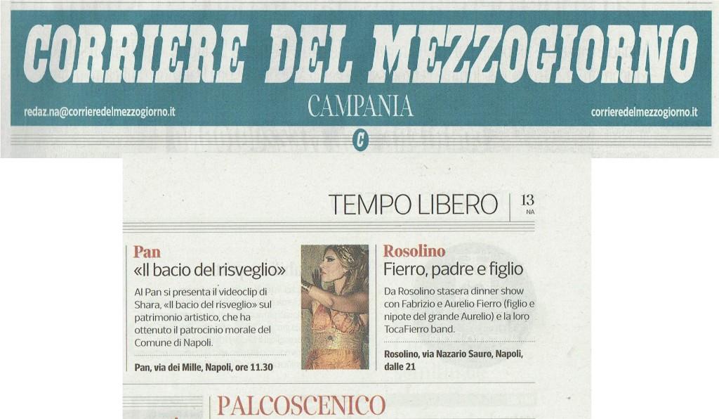Articolo Corriere del Mezzogiorno 06-05-2017