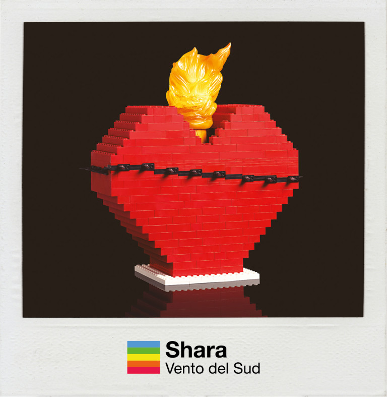 SHARA - cd cover VENTO DEL SUD (version 2019)